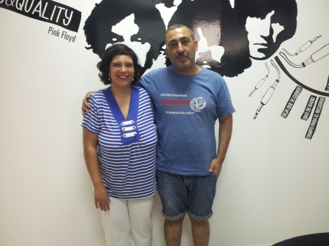 Mari Carmen León y Almécija.
