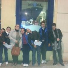 Grupo del PTVAL junto Silvia Rivas