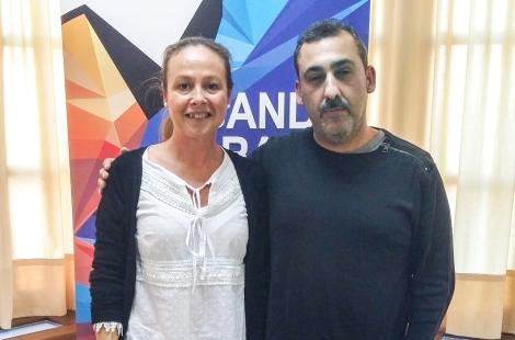 Belén Núñez y Antonio Almécija