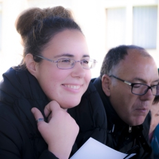Toñi García, Autogestora de ASPAPROS