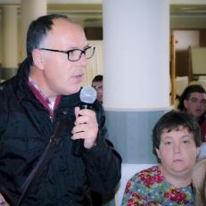 Ramón Alcaide, Autogestor de ASPAPROS