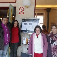 Clientes de ASPAPROS en Teatro Apolo de Almería