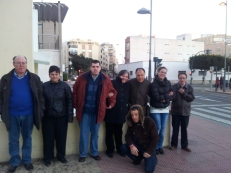 """Paseando por """"La Rambla"""" en Almería"""