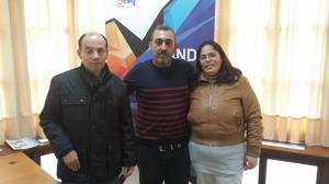 Santiago, Antonio y Marisa