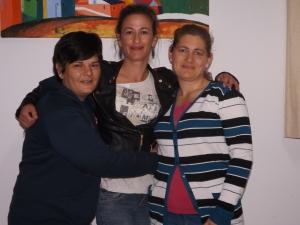 Joana, Raquel y Tamara