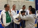 Pepa recibe su medalla