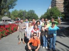 Bajo el sol de Granada