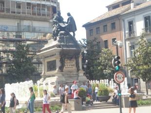 En pleno centro de Granada