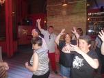 Bailando en el hotel