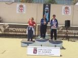 Tamara, medalla de bronce