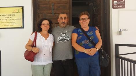 María José, Antonio y Rosa