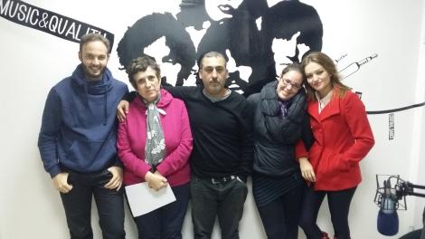 Francisco, Carmen, Antonio, Toñi y María del Mar