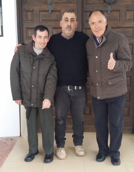 Juan López, Antonio Almécija y Ramón Alcaide