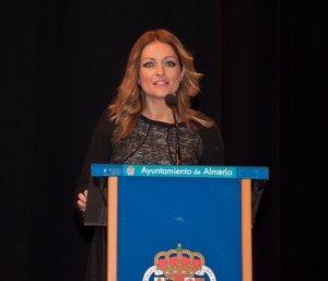 María del Mar Esparza dirigió unas palabras a los asistentes