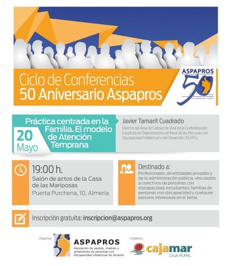 III Cartel Conferencias 50 aniversario Aspapros